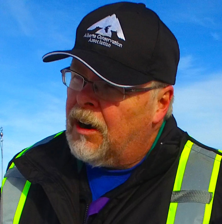 Randy Collins - past-president of the Alberta Fish and Game Association