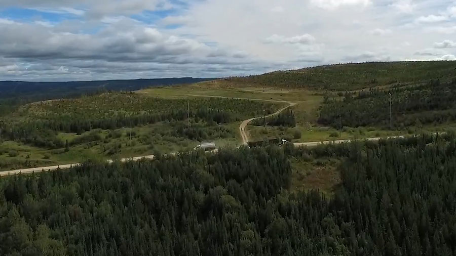 Resource roads in Alberta pass over many rivers and streams