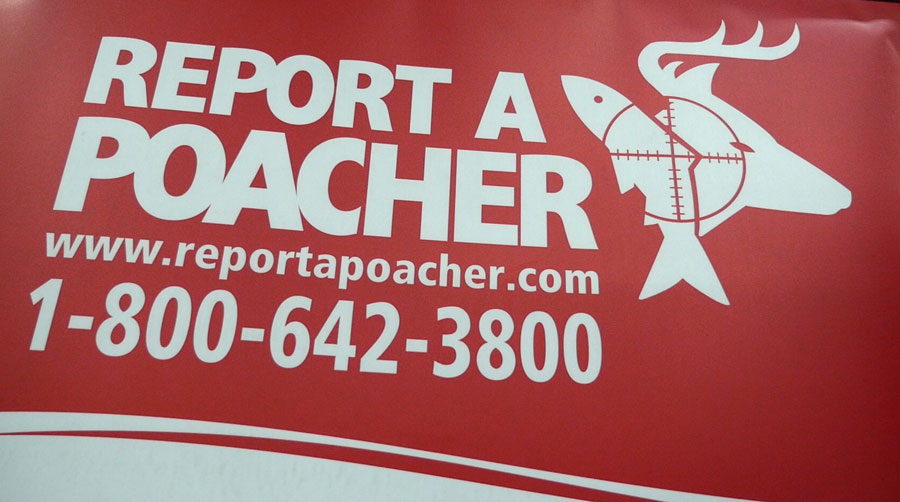 Report a Poacher logo