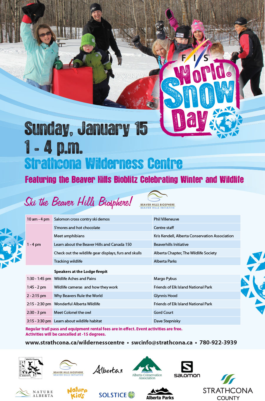 World Snow Day Poster
