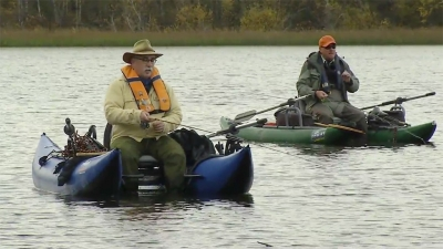 Fall flyfishing with Phil Rowley from Trout Unlimited Canada