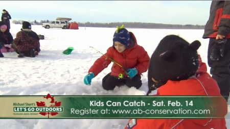 Kids Can Catch - Ice Fishing at Lake Wabamun