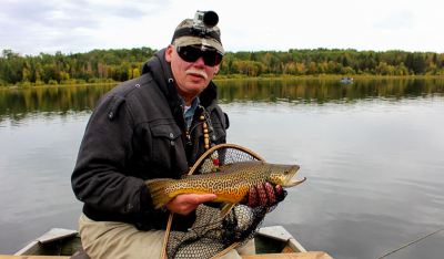 Gary Hanke has come to appreciate the challenge presented by Tiger Trout and introduces us to a European fishing method to help you land more fish