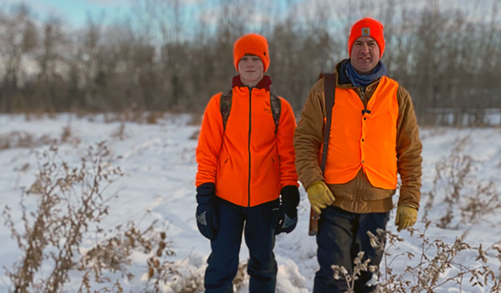 Having easy access to conservation properties can eliminate valuable time in locating hunting locations on private land.