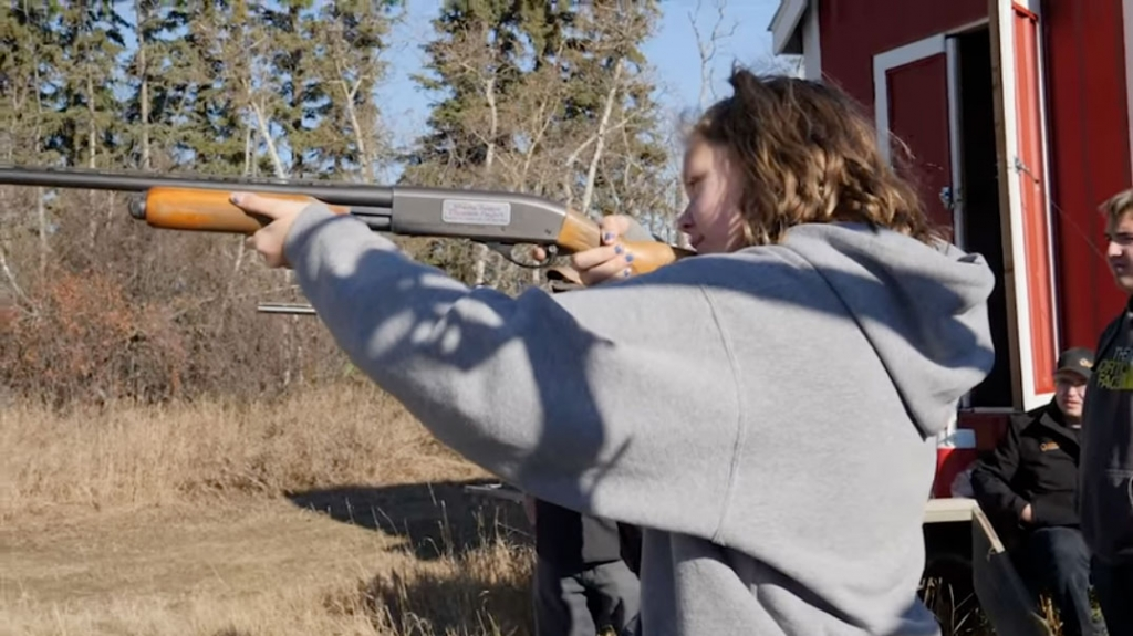 Kids in Alberta spend a day learning about pheasant hunting