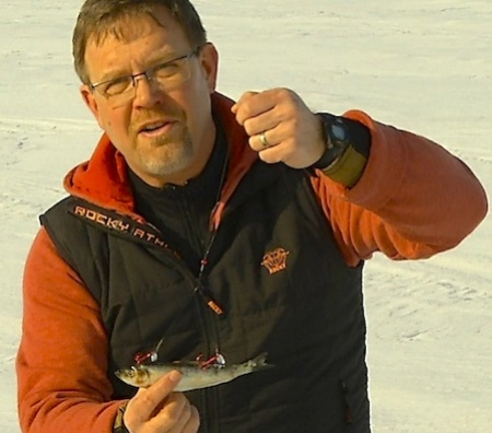 March great for ice fishing