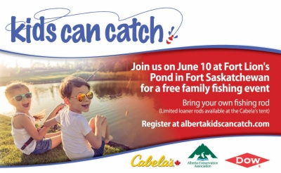 Kids Can Catch 2017 - Fort Lion's Community Fish Pond