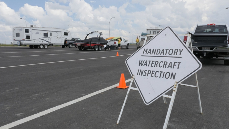Alberta's watercraft inspection stations in full swing this summer