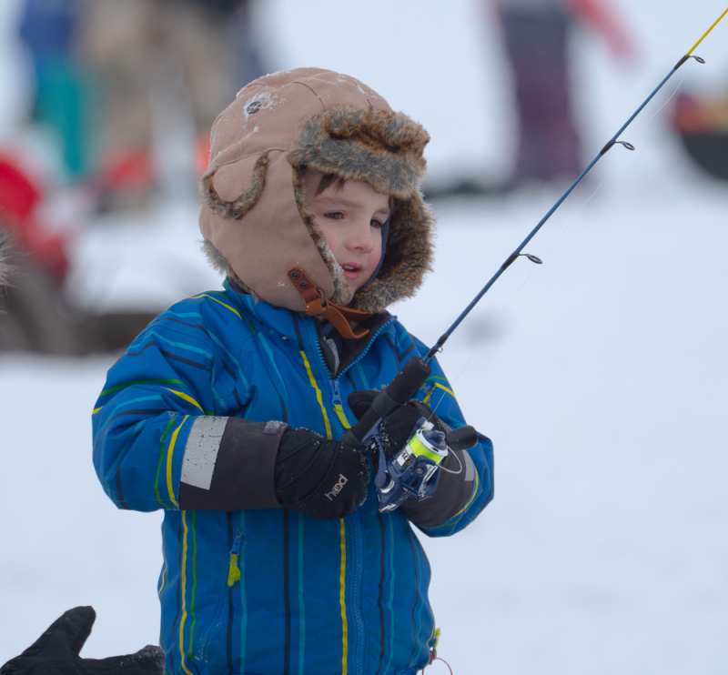 It was great to see so many anglers turn out for the Family Day Kids Can Catch event out at Wabamun Lake
