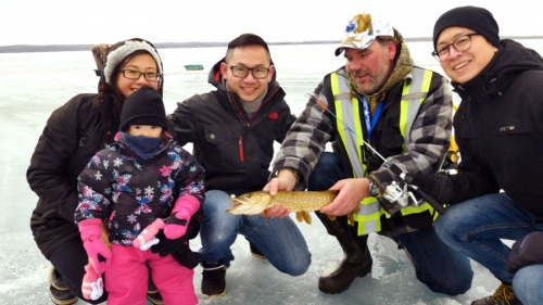 Family Day Ice fishing event a big hit